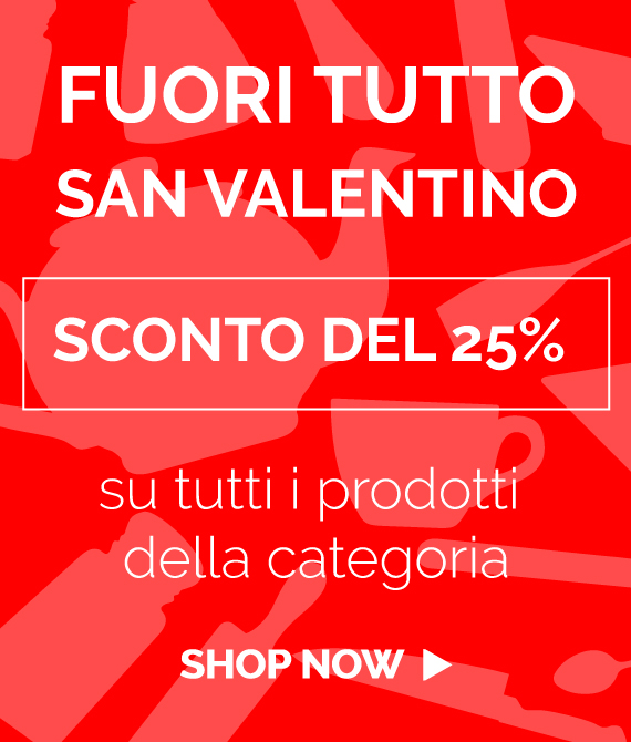 Promozione 25% San Valentino