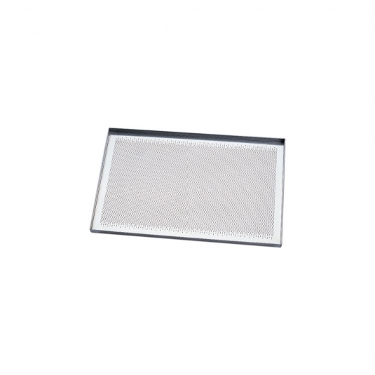 Teglia Piana in Alluminio Microforata