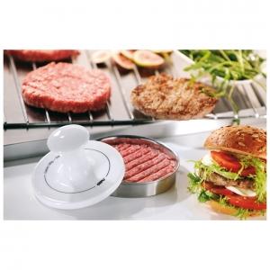 Sparke Pressa per hamburger Ø13,3cm inox/porcellana Gefu