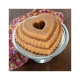 Stampo TIERED HEART BUNDT PAN NW89937 12 cups Nordic Ware