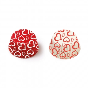 Pirottini LOVE in carta Ø5cm 36 pezzi Decora