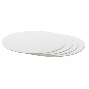 Disco di Cartone Sottotorta Sottile Bianco