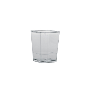 Bicchierini Monouso Quadrati 175 ml