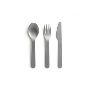 SET POSATE TO-GO INOX/SILICONE