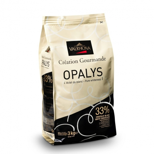 Cioccolato Valrhona Opalys 33%