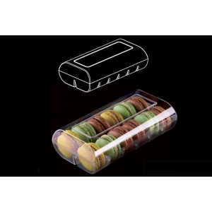 confezione macaron 12pcs trasparente