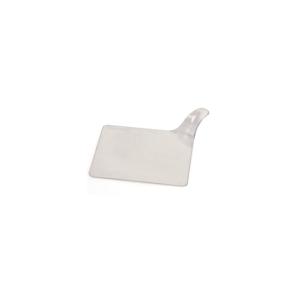 Set 50 Vassoi Quadrati monoporzione in Plastica Trasparenti