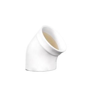 Barattolo Sale da Piano in Ceramica Bianco Farine