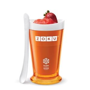 Bicchiere per Granita Slush & Shake Maker Zoku Arancio