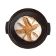 Nuovo Cuoci Pane in Ceramica Nero Fusain