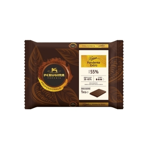 Cioccolato di Copertura Fondente Extra 55% Luisa 1kg