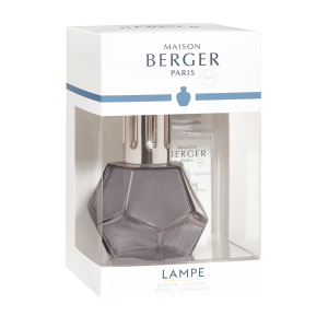 COFANETTO LAMPADA BERGER A CATALISI GEOMETRY LIQUIRIZIA E PARFUM DE MAISON CARESSE DE COTON 180 ML