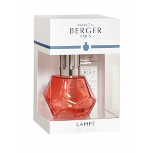 COFANETTO LAMPADA BERGER A CATALISI GEOMETRY GRANATINA E PARFUM DE MAISON PARIS CHIC 180 ML