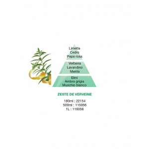 RICARICA LAMPE BERGER PARFUM DE MAISON ZESTE DE VERVEINE (500 ML)