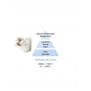RICARICA LAMPE BERGER PARFUM DE MAISON CARESSE DE COTON (500ML)