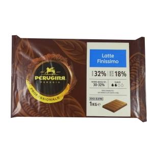 Cioccolato al Latte Finissimo Cacao 32% 1kg