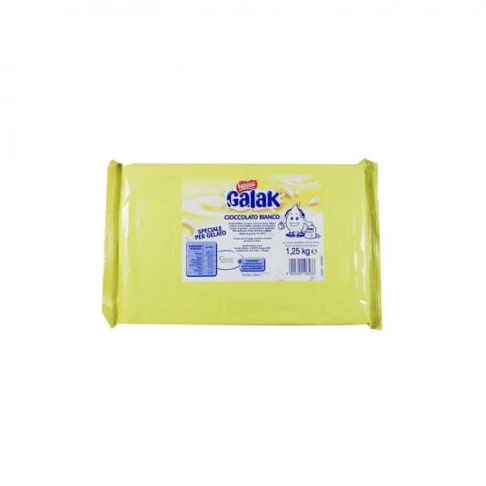 Cioccolato Bianco Galack Speciale per Gelato 1,25 Kg