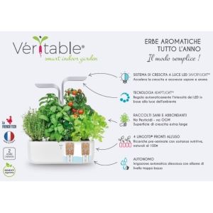 ORTO IN CASA SMART VERITABLE GARDEN WHITE