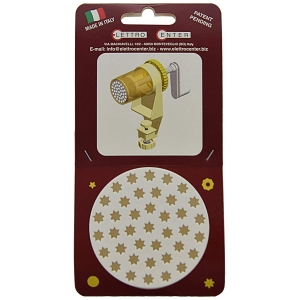 ACCESSORIO PER TORCHIO - TRAFILA PASSATELLI A STELLA 7 MM IN PLASTICA