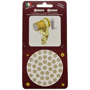 ACCESSORIO PER TORCHIO - TRAFILA PASSATELLI ROTONDI 7 MM IN PLASTICA