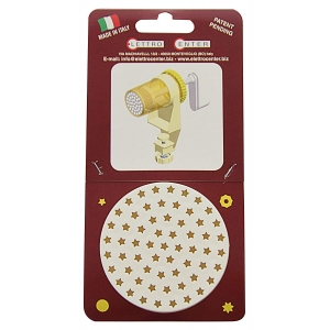 ACCESSORIO PER TORCHIO - TRAFILA PASSATELLI A STELLA 4,8 MM IN PLASTICA