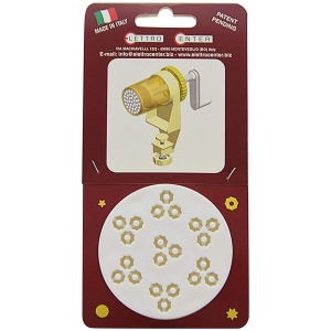 ACCESSORIO PER TORCHIO - TRAFILA BUCATINI OTTAGONALI 6 MM IN PLASTICA
