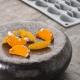 MANDARIN Stampo in silicone 30 impronte 3,8x2,2cm H1,5cm Gourmand GG024S Pavoni