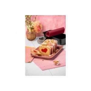 Stampo Plumcake con Inserto Cuore 25 cm Antiaderente Inspiration