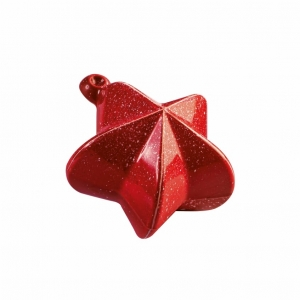 SET 2 STAMPI CIOCCOLATO CHRISTMAS BAUBLES 20SF008 IN PLASTICA TERMOFORMATA
