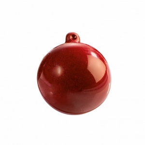 SET 2 STAMPI CIOCCOLATO CHRISTMAS BAUBLES 20SF007 IN PLASTICA TERMOFORMATA
