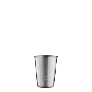 BICCHIERI PARTY CUP 4 PACK - 0,35 ML IN ACCIAIO