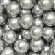 Perle di zucchero maxi argento 100gr Decora