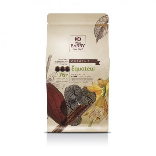 Cioccolato Fondente Equateur 76% 1 Kg