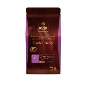 Cioccolato al Latte Lactee Barry 35%