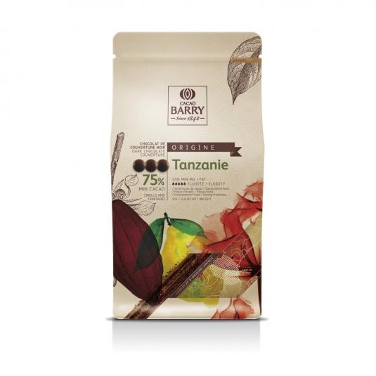 Cioccolato Fondente Tanzania 75% 1 Kg