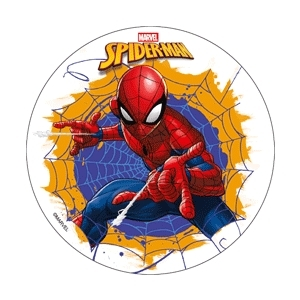 DISCO EDIBILE D18,5 SPIDERMAN