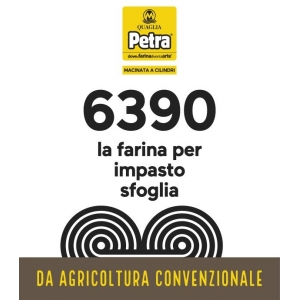 FARINA PETRA 6390 - 5KG IMPASTO SFOGLIA E CROISSANT