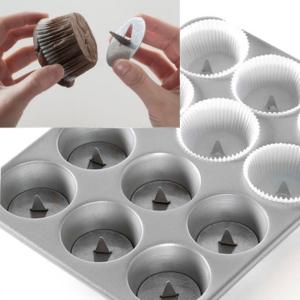 Set di 12 accessori per muffin e cupcakes ripieni NW05902 Nordic Ware