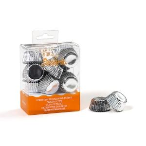 Pirottini bon bon argento in carta Ø2,7cm 180 pezzi Decora