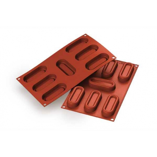 Stampo Silicone Log Savarin