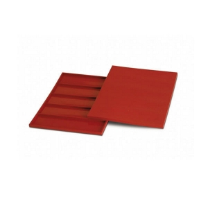 Stampo SF096 RECTANGULAR BAR in silicone 5 impronte Silikomart