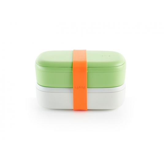 Lunchbox TO GO citrus/bianco Lékué