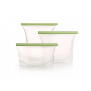 Set di sacchetti riutilizzabili in silicone 3 pz. 0,5/1/1,5 litri Lékué