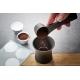 CONSCIO Set capsule caffè riutilizzabili inox/alluminio 8 pz Gefu