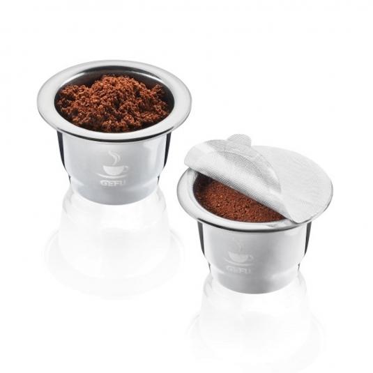 CONSCIO Capsule per caffè riutilizzabili inox Set 2 pz Gefu
