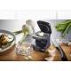 Taglia aglio plastica/inox nero QUBE Gefu
