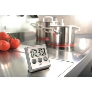 Timer digitale magnetico inox CONTARE Gefu