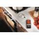 Termometro radio digitale inox con timer e sonda Gefu