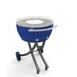 Barbecue con ruote a carbonella XXL Blu LG GG600 BL Lotus Grill