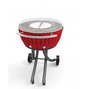 Barbecue con ruote a carbonella XXL Rosso LG GG600 RD Lotus Grill